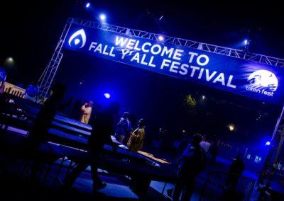 Fall Y'all Entrance