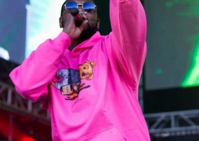 Rapper ScHoolboy Q headlines the Sun God stage at Sun God Festival 2017