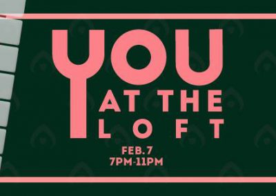 "<h3>You At The Loft II</h3>2/7/2019 | 7 PM - 11 PM | The Loft | <a href=""https://www.facebook.com/events/476789696062011/"" target=""_blank"">Facebook page</a><br><br> ""The quarterly open-mic night brought to you by UCSD AS Concerts & Events."" No auditions, just a sign-up. Guitar performances, stand-up comedy, rap... bring any and all of your talents!  Take your Thursday night slow by winding down and appreciating your local campus talent. There will also be free flatbread pizza and fries, brought to you by Zanzibar at the Loft!"